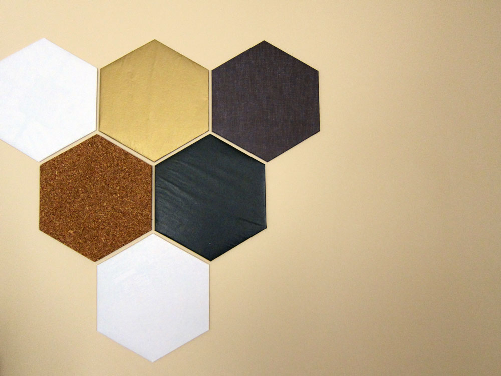 DIY: Hexagon Wall Décor – beauty finds adventures