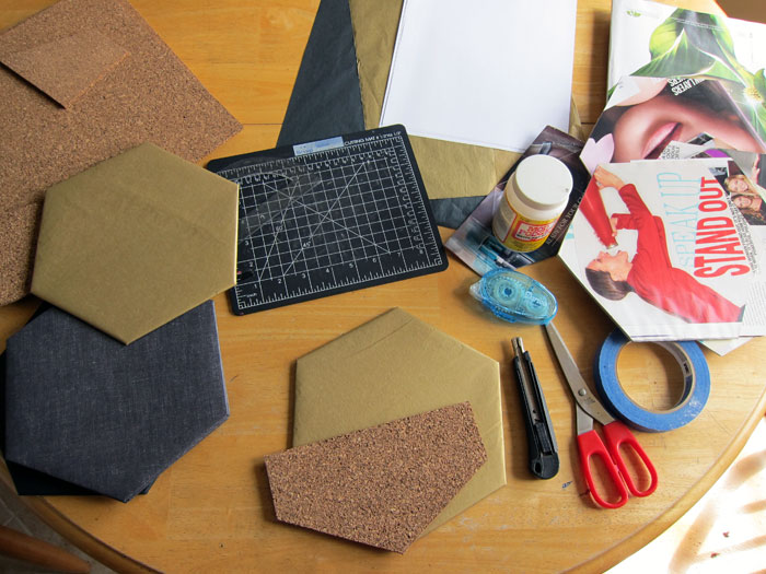 diy_hexagon_wall_decor_things_youll_need