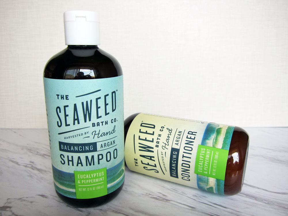 Review The Seaweed Bath Co Balancing Eucalyptus And Peppermint Shampoo And Conditioner Beauty Finds Adventures