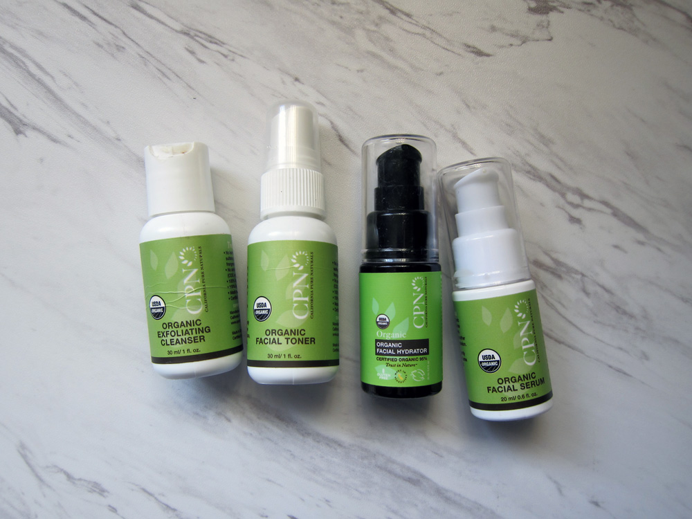 First Look And First Impression Cpn Organic Skincare Line Beauty