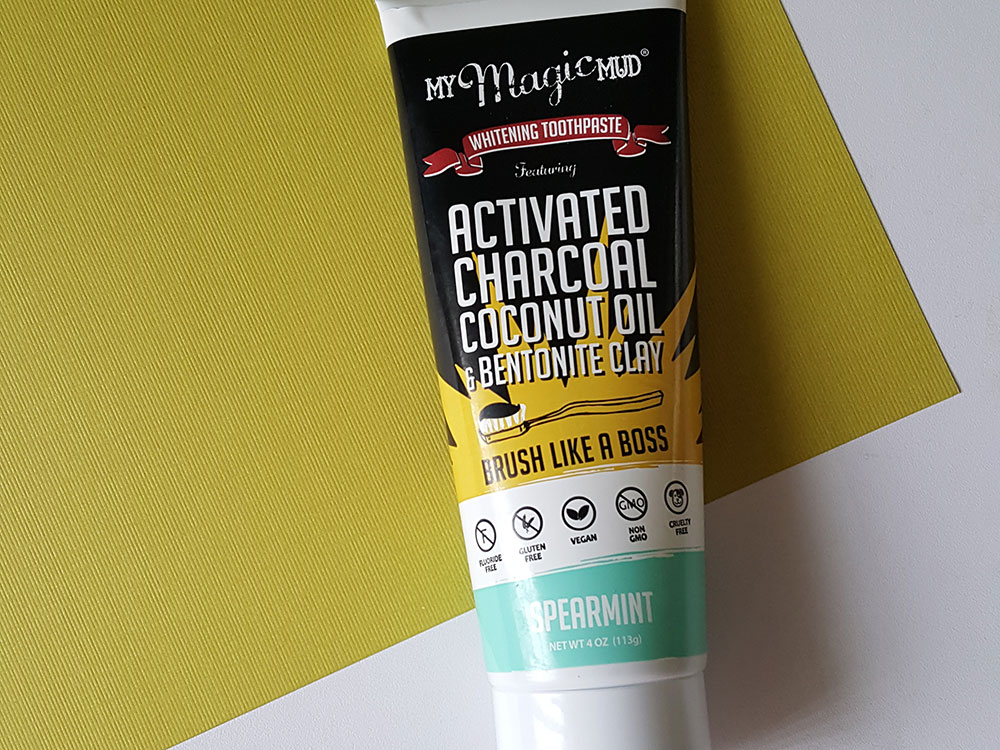 Review My Magic Mud Activated Charcoal Toothpaste For Whitening